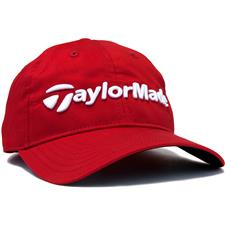 Taylor Made Men's Lifestyle Tradition Lite Personalized Hat - Red