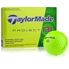 Taylor Made Prior Generation Project (a) Yellow Personalized Golf Balls