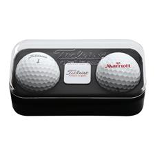 Titleist Custom Logo 2-Ball Pack with Ball Marker
