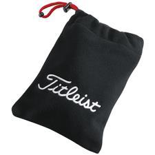 Titleist Corporate Fleece Custom Logo Valuables Pouch - Black