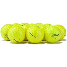 Titleist Logo Overrun Prior Generation DT TruSoft Yellow Golf Balls