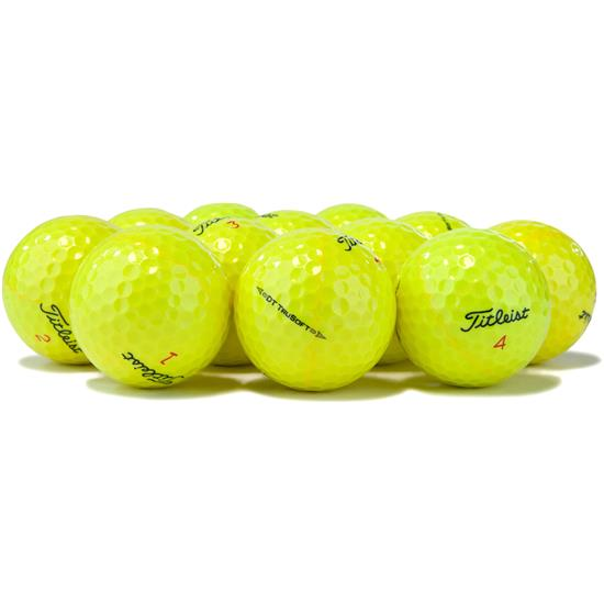 Titleist Prior Generation DT TruSoft Yellow Golf Balls