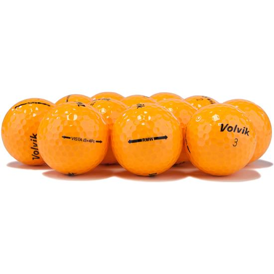 Volvik Vista iS Orange Golf Balls