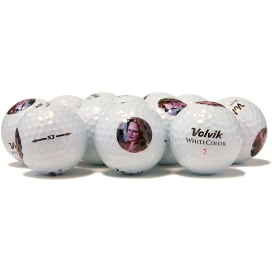 Volvik White Color S3 Golf Balls