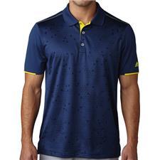 Adidas Men's Climacool Stratus Print Polo