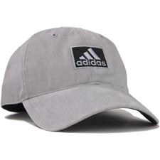 Adidas Men's Cotton Relaxed Personalized Hat - Mid Grey-Black