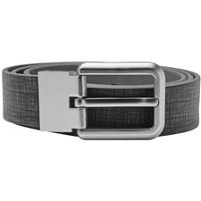 Adidas Reversible Printed Belt - Black-Grey - Cut to Size