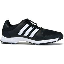 Adidas Core Black-White-Core Black Tech Response Golf Shoes