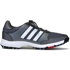 Adidas Iron Metallic-White-Core Black Tech Response Golf Shoes