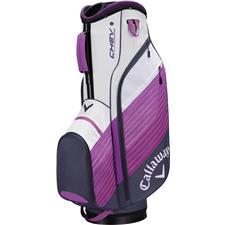 Callaway Golf Chev Personalized Cart Bag - Titanium-Purple-White