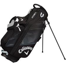 Callaway Golf Chev Personalized Stand Bag - Black-Silver-White