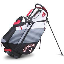 Callaway Golf Chev Personalized Stand Bag - Black-White-Red