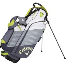 Callaway Golf Chev Personalized Stand Bag - Titanium-White-Neon Green
