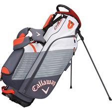 Callaway Golf Chev Personalized Stand Bag - Titanium-White-Orange