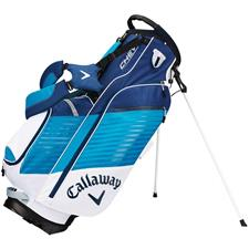 Callaway Golf Chev Personalized Stand Bag - White-Teal-Navy