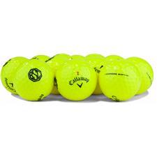 Callaway Golf Logo Overrun Prior Generation Chrome Soft Yellow Golf Balls