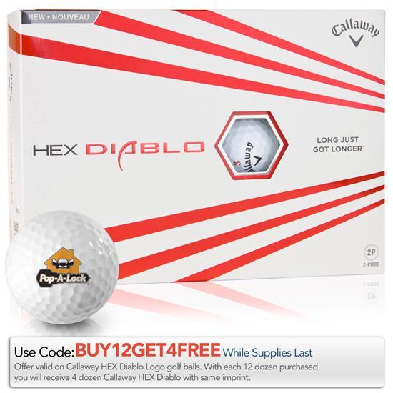 Callaway Golf HEX Diablo Golf Balls