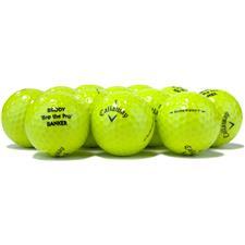 Callaway Golf Logo Overrun Prior Generation Supersoft Lime Golf Balls
