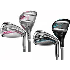 Cobra King F7 Combo Graphite Iron Set for Women