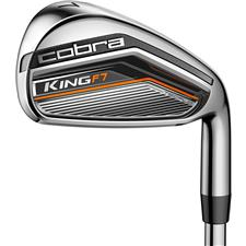 Cobra King F7 Steel Iron Set