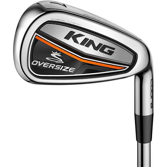 Cobra King Oversize Steel Iron Set