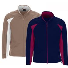 Greg Norman Men's Full Zip Pieced Weatherknit