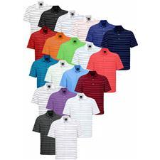 Greg Norman Custom Logo ProTek Micro Pique Stripe Polo