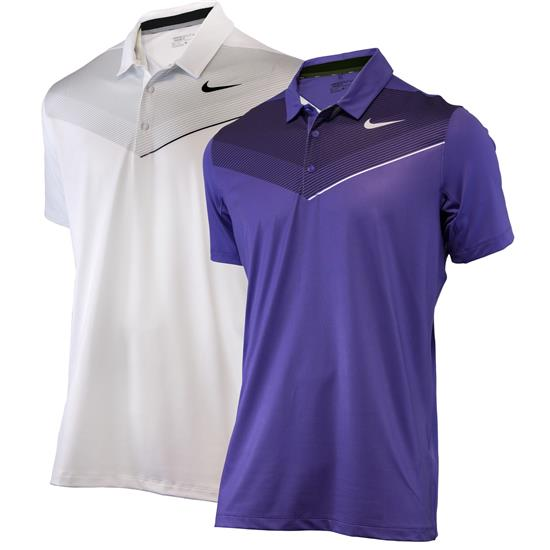 Nike Men's Mobility Print Polo Manufacturer Closeout