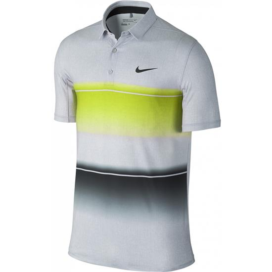 Nike Men's Mobility Stripe Polo Manufacturer Closeout