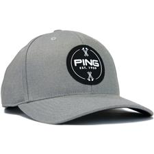 PING Men's Patch Personalized Hat - Grey