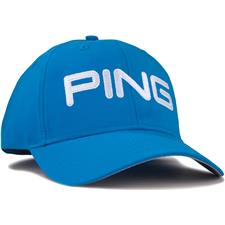 PING Men's Tour Light Personalized Hat - Birdie Blue-White