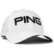 PING Men's Tour Light Personalized Hat - White-Black