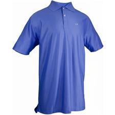 TABASCO Brand Men's Sport Performance Polo - Horizontal Bottle