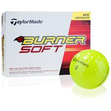 Taylor Made Burner Soft Yellow Golf Balls