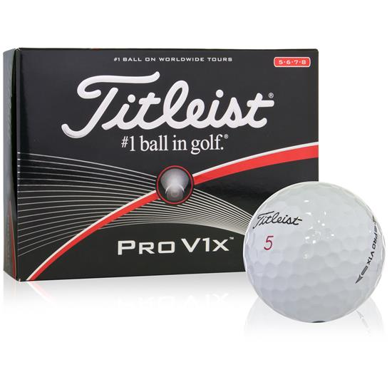 Titleist Pro V1x High Number Golf Balls