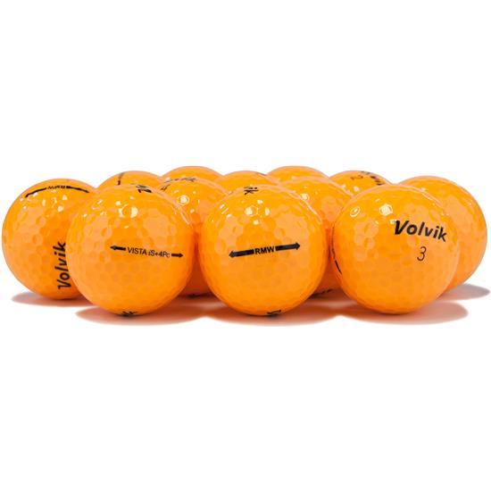 Volvik Vista iS Orange Golf Balls