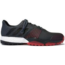 Adidas Onix-Core Black-Scarlet Adipower Sport Boost 3 Golf Shoes