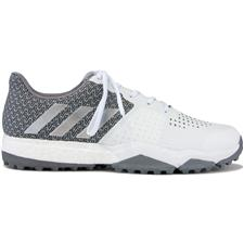 Adidas White-Silver Metallic-Light Onix Adipower Sport Boost 3 Golf Shoes
