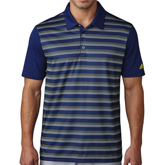 Adidas Men's Climacool Competition Stripe Polo