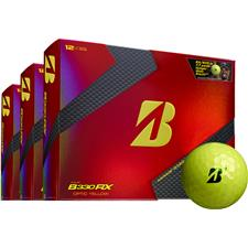 Bridgestone Tour B330-RX Yellow B Mark Personalized Golf Ball - Buy 2 Get 1