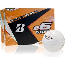 Bridgestone e6 Soft Personalized Golf Balls - 2 Dozen