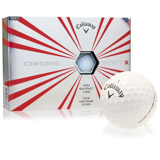 Callaway Golf Prior Generation Chrome Soft X Golf Balls