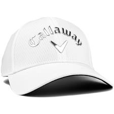 Callaway Golf Liquid Metal Personalized Hat for Women - White-Chrome