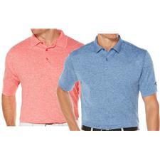 Callaway Golf Men's Opti-Stretch Heathered Polo
