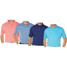 Callaway Golf Men's Opti-Stretch Heathered Polo