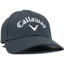 Callaway Golf Men's Performance Side Crested Structured Personalized Hat - Charcoal