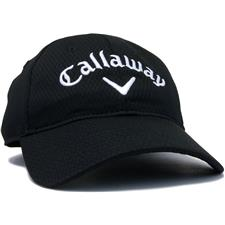 Callaway Golf Men's Performance Side Crested Unstructured Personalized Hat - Black
