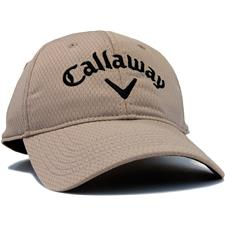 Callaway Golf Men's Performance Side Crested Unstructured Personalized Hat - Khaki