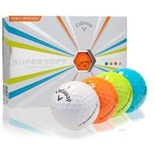 Callaway Golf Supersoft Multi-Color Golf Balls