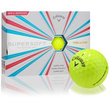 Callaway Golf Supersoft Yellow Custom Express Logo Golf Balls